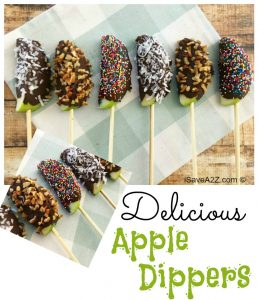 Delicious Apple Dipper Sticks