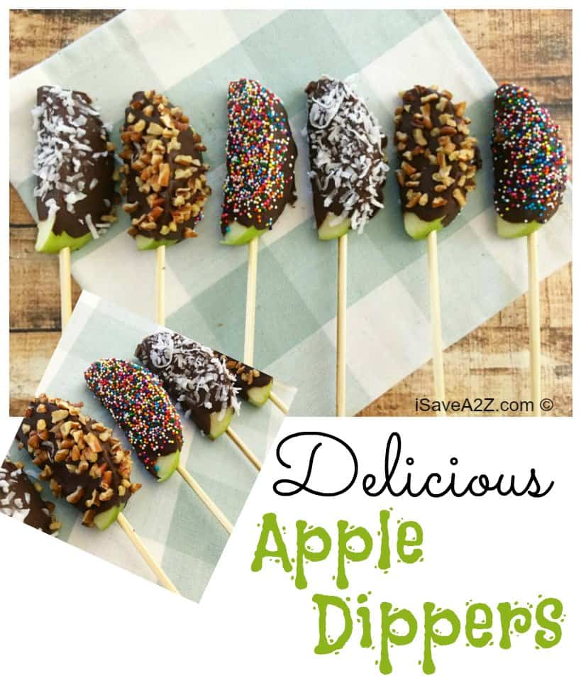 Delicious Apple Dipper Sticks