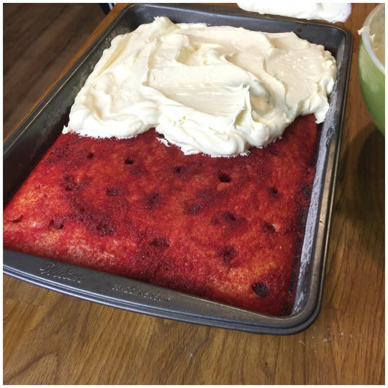 Cherry Vanilla Coke Poke Cake Recipe