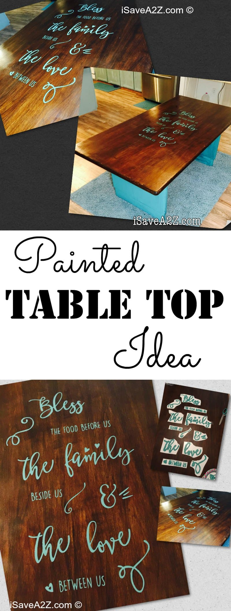 Painted Table Top Idea