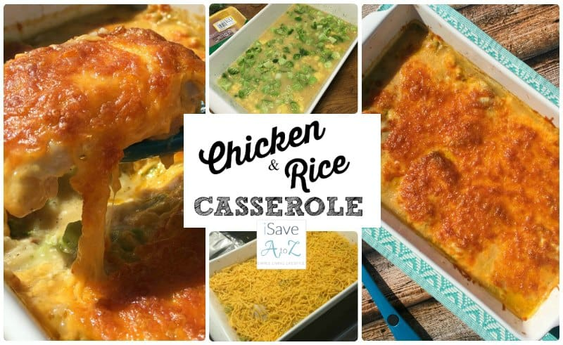 Easy Chicken and Rice Casserole with Broccoli