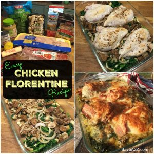 Easy Chicken Florentine Recipe