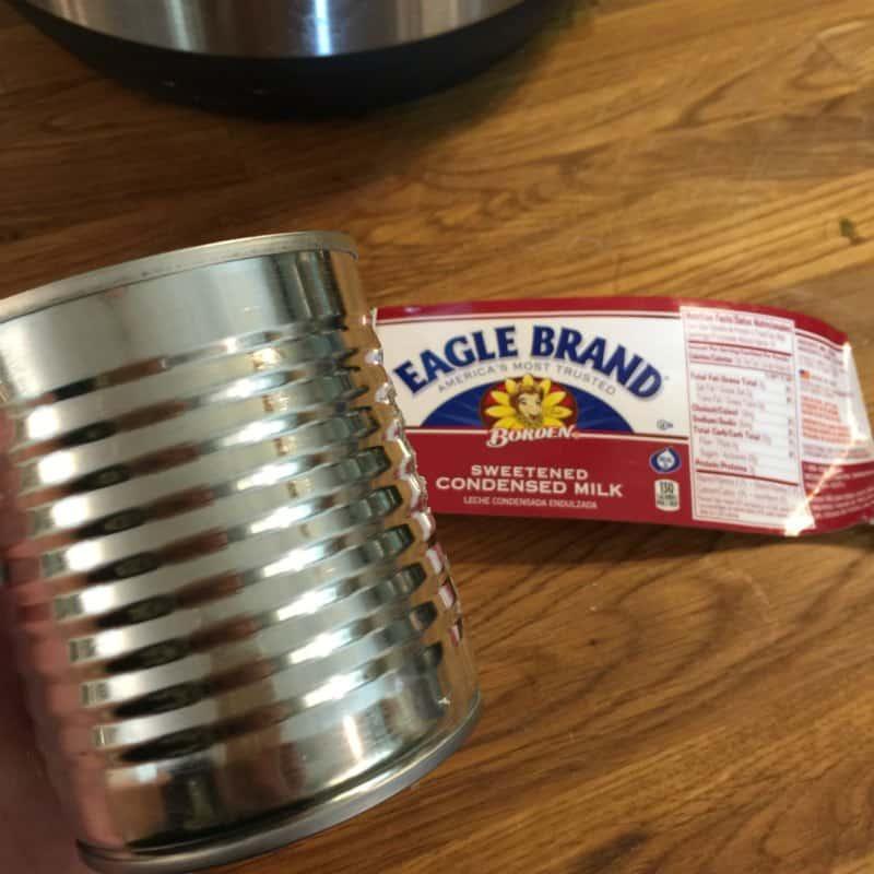 Dulce de Leche made in a Pressure Cooker