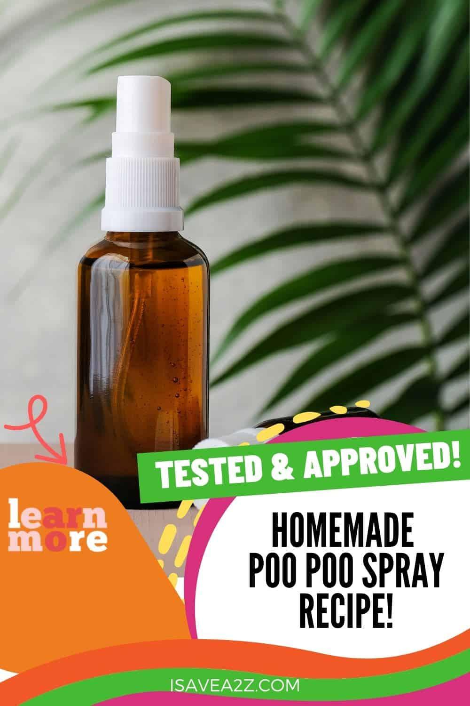 Homemade Poo Poo Spray recipe