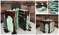 No Bake Chocolate Mint Cake Recipe