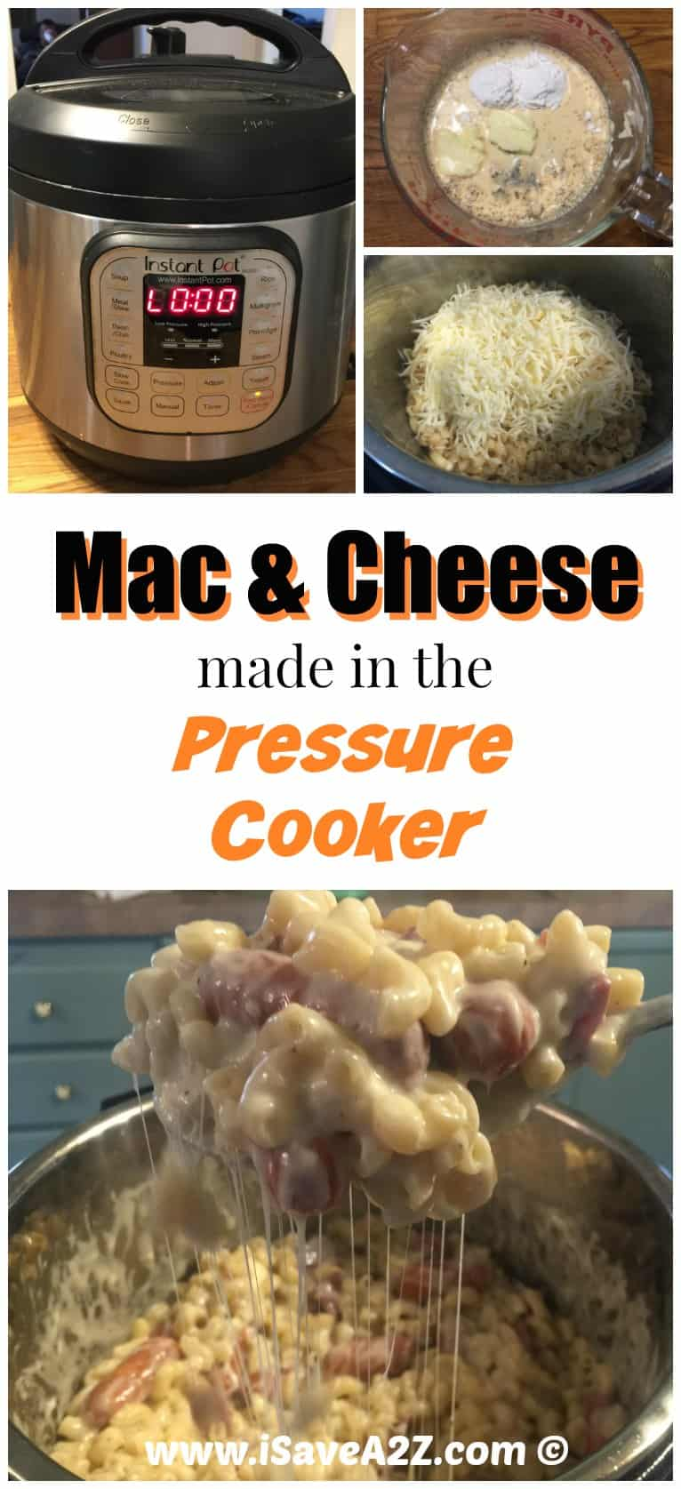 how to cook mac and cheese in a pressure cooker