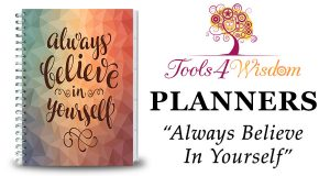 Always Believe In Yourself Hardcover 2017 Planner Review and Goal Setting Tips