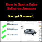 Beware of Fake Sellers with this Amazon Scam