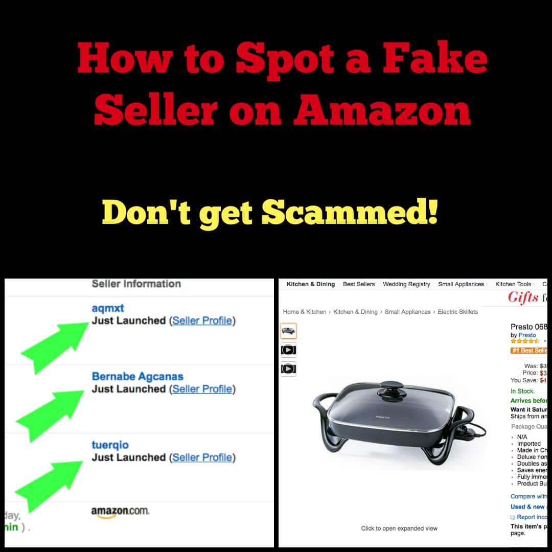 Beware of Fake Sellers with this Amazon Scam - iSaveA2Z.com