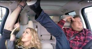 Madonna Carpool Karaoke Just Happened!