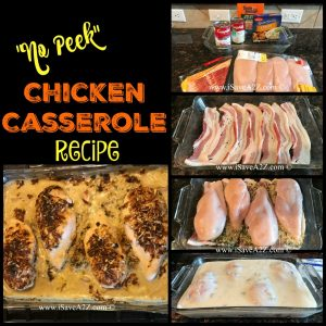 "Easy ""No Peek"" Chicken Casserole Recipe"