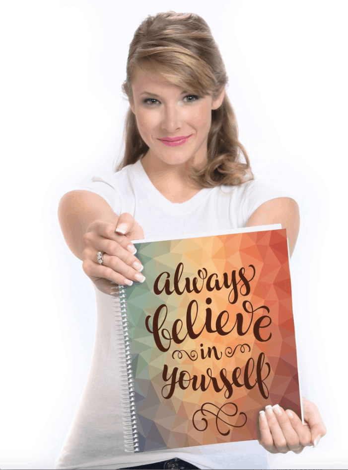 Always believe in Yourself hard cover planner review