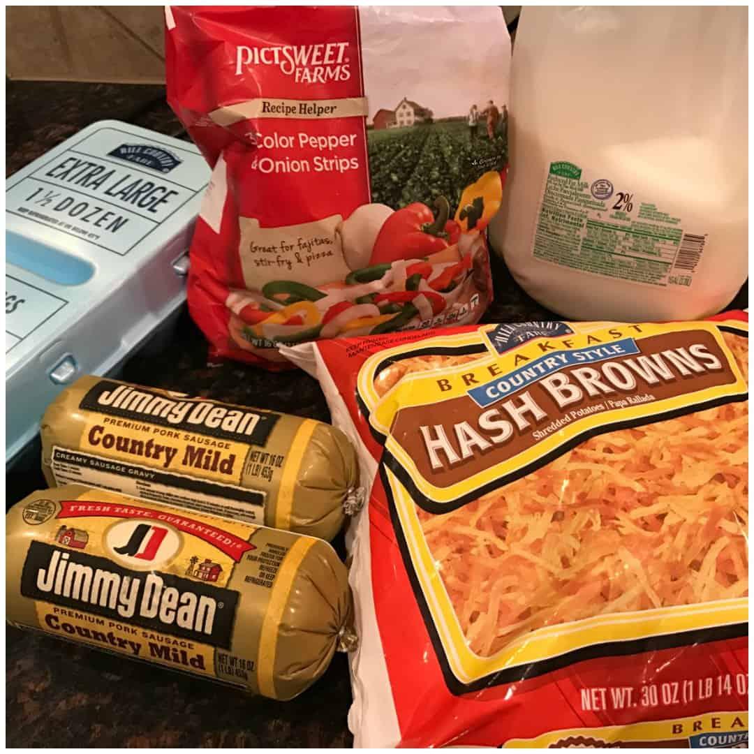 Crockpot Breakfast Casserole Recipe for a Large Family