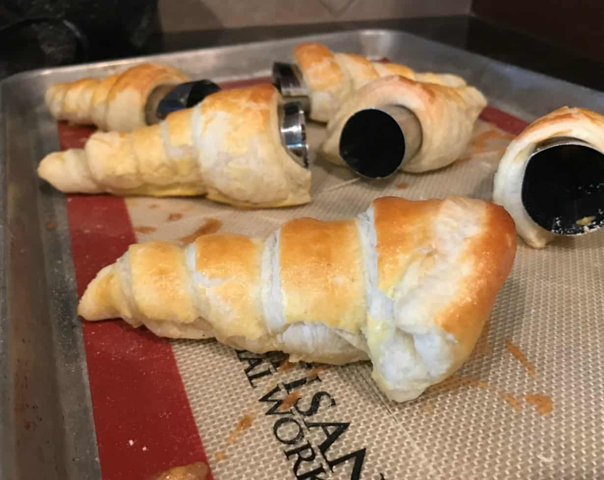 Easy Cream Horns Recipe