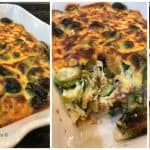 Baked Brussel Sprouts Casserole (Keto Friendly Recipe)