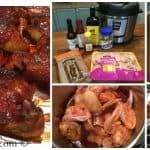 Instant Pot Recipes:  Honey BBQ Wings made in an Electric Pressure Cooker