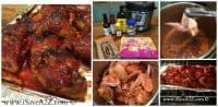 Instant Pot Recipes: Honey BBQ wings