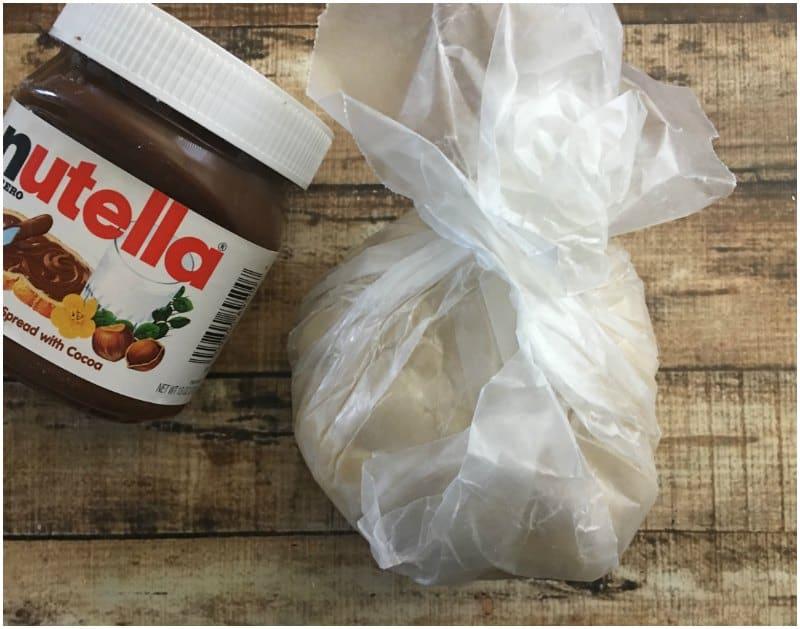 Homemade Heart Shaped Nutella Hot Pockets Recipe made from scratch
