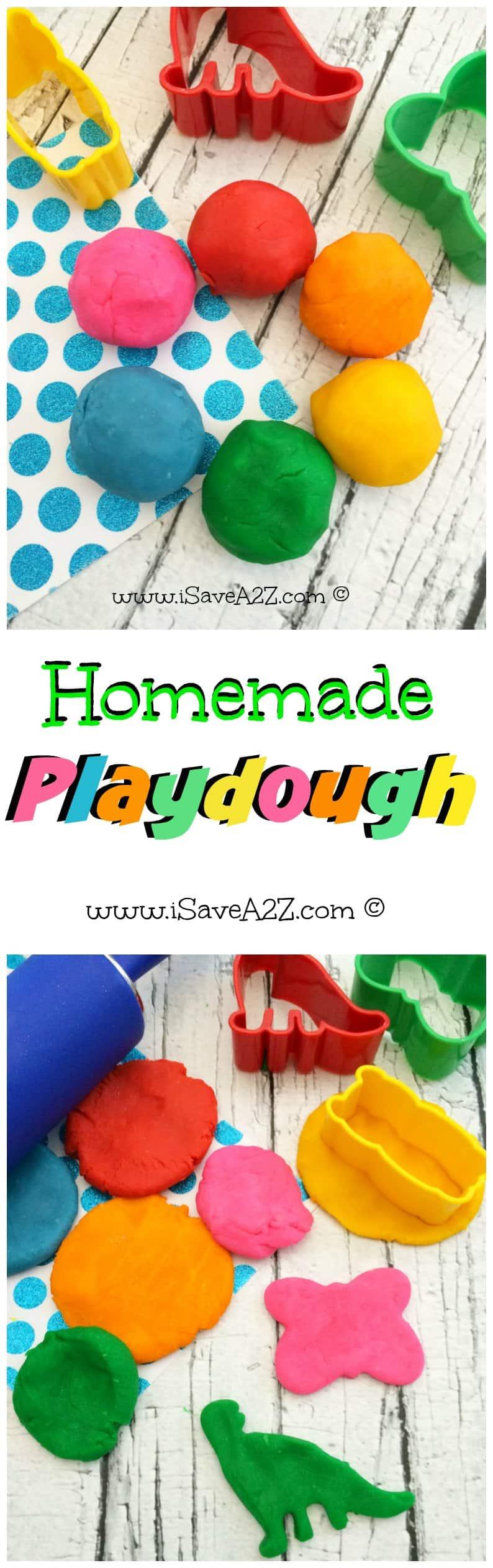 Homemade Playdough Recipe