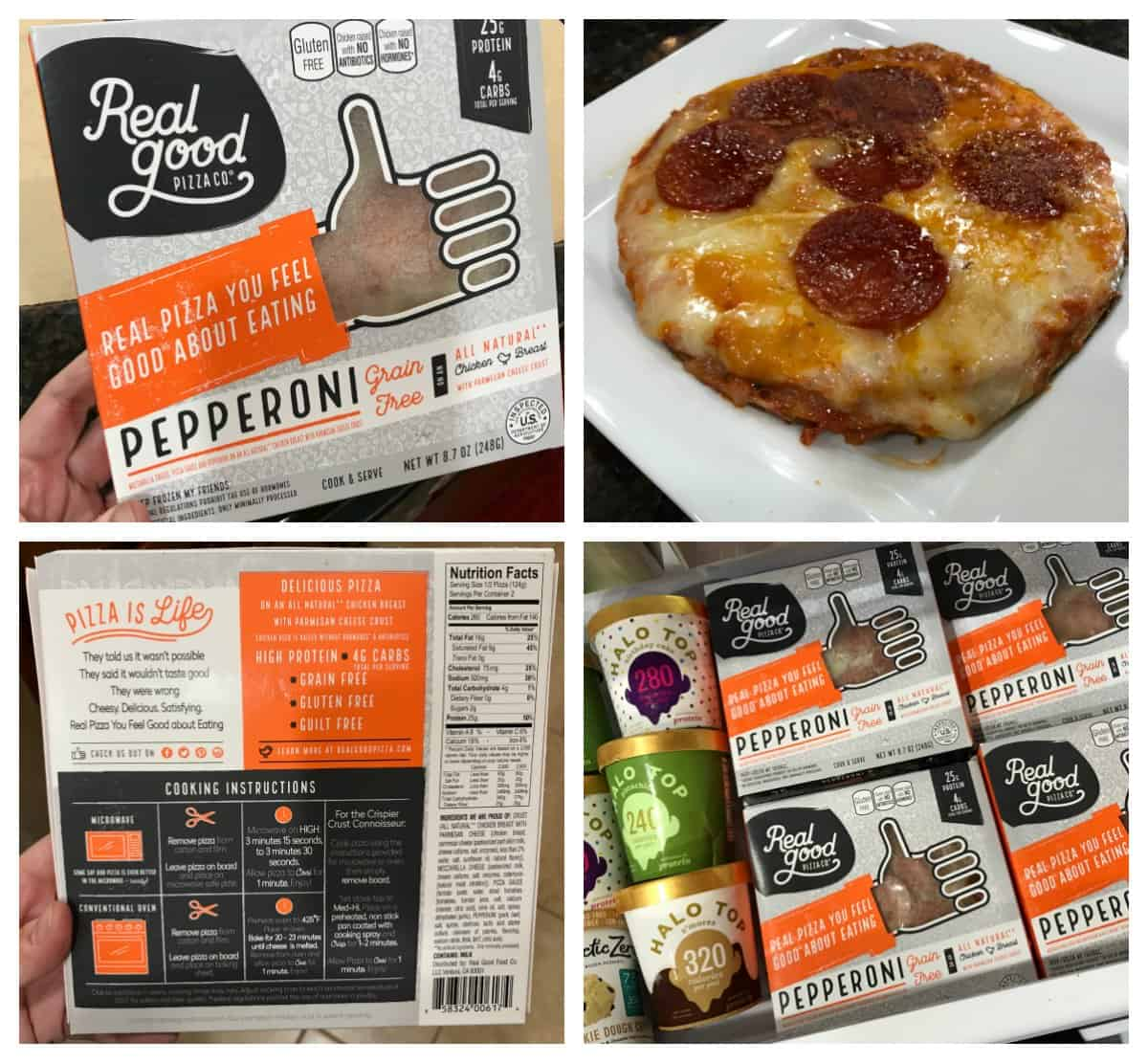 Real Good Foods Pepperoni Pizza