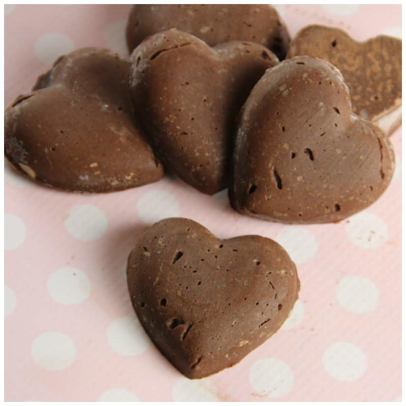 Sugar Free Chocolate Candy Hearts (Keto Friendly Recipe)