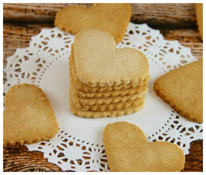 Low Carb Shortbread Cookies - Keto Friendly Recipe