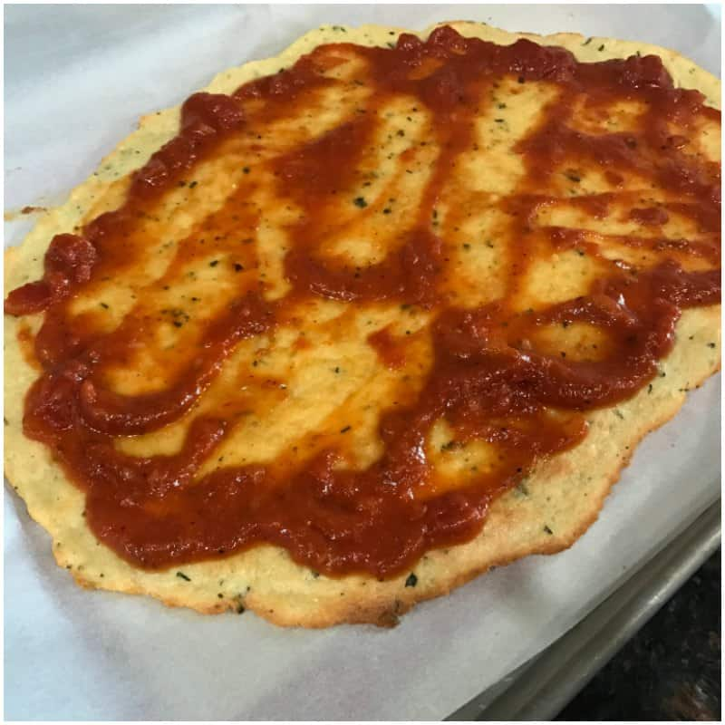 Low Carb Keto Friendly Pizza Recipe