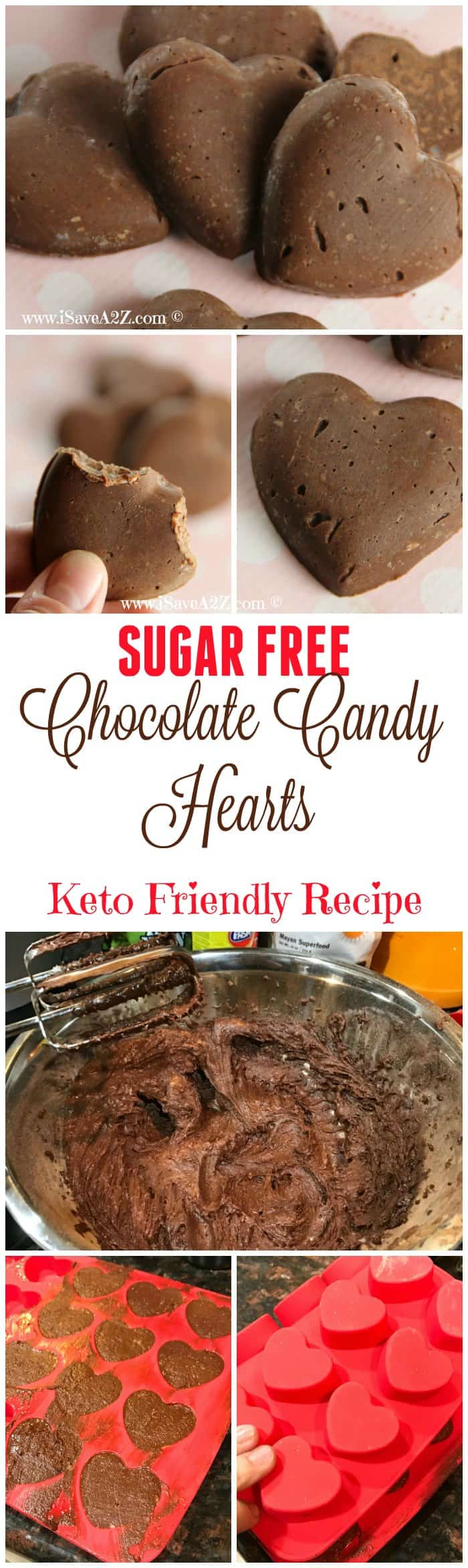 Sugar Free Chocolate Candy Hearts Recipe