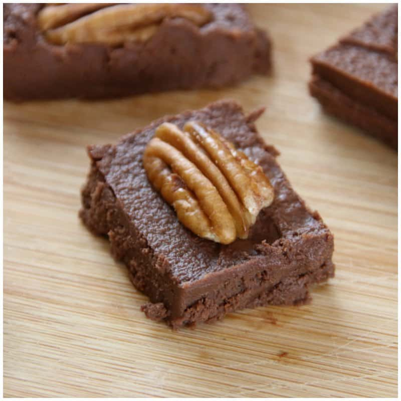 Low Carb Chocolate Fudge Recipe - Keto Dessert Ideas