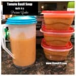 Nordstrom Tomato Basil Soup Made in a Pressure Cooker!