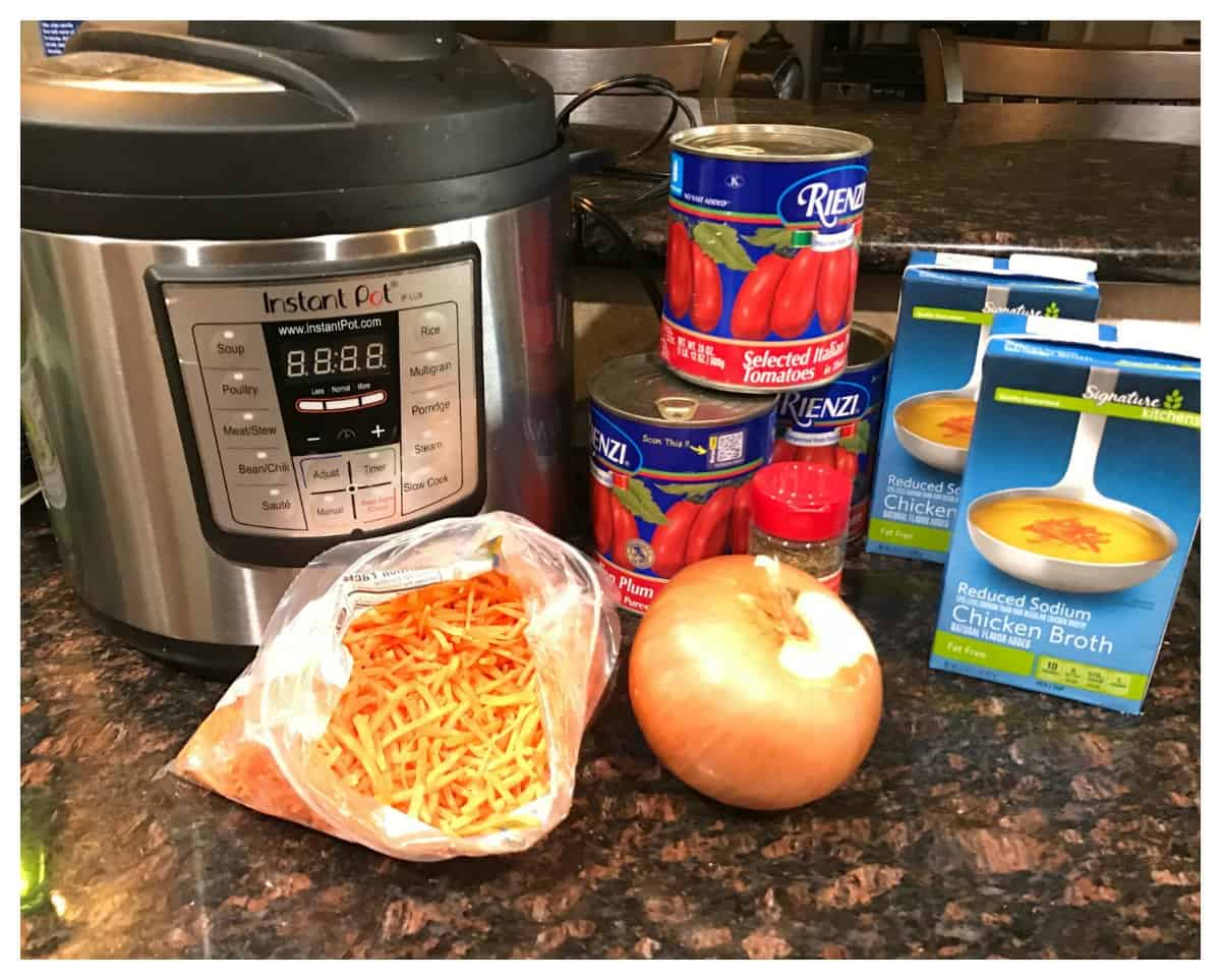 Nordstrom Tomato Basil Soup Made in a Pressure Cooker