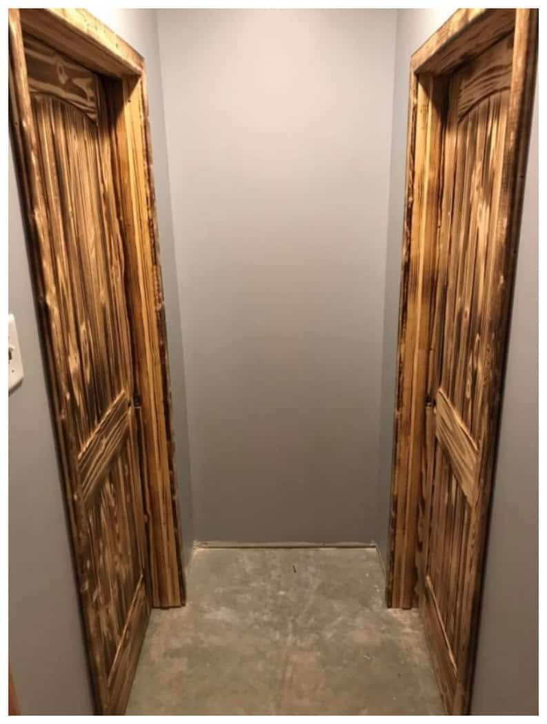 Burnt Wood Door Design Idea. Burnt Wood Door Design Idea   iSaveA2Z com