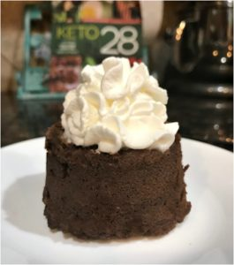 One Minute Keto Chocolate Mug Cake