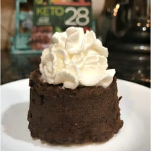 One Minute Keto Chocolate Mug Cake