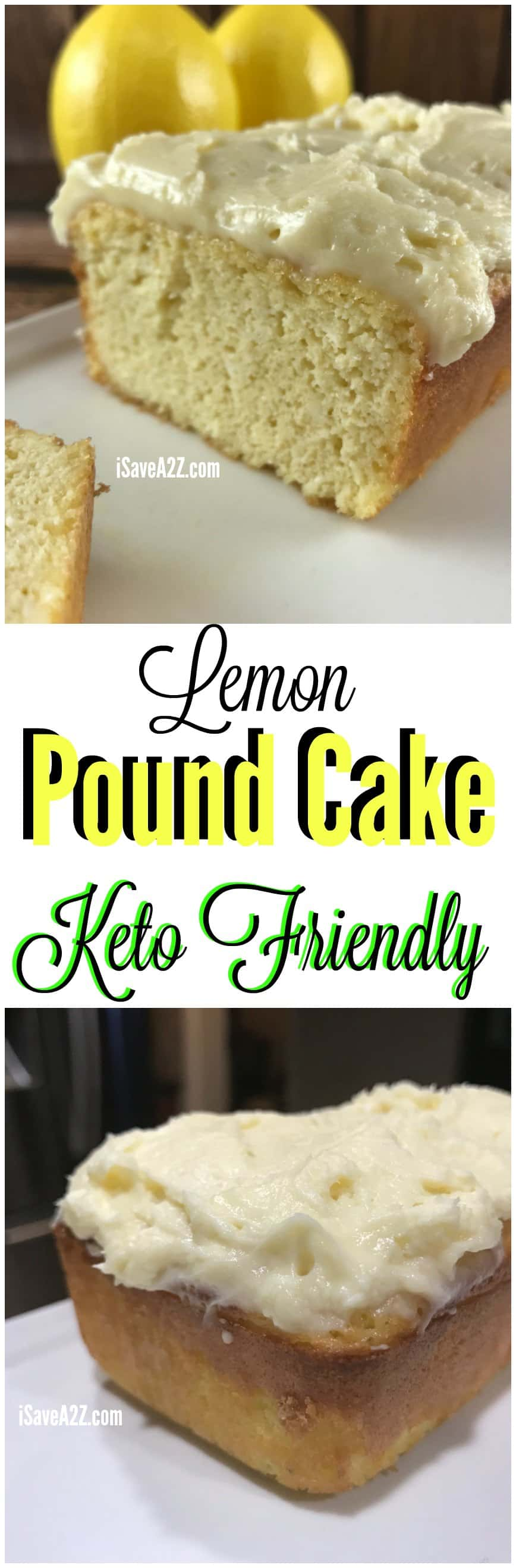 Low Carb Lemon Cake With Almond Flour