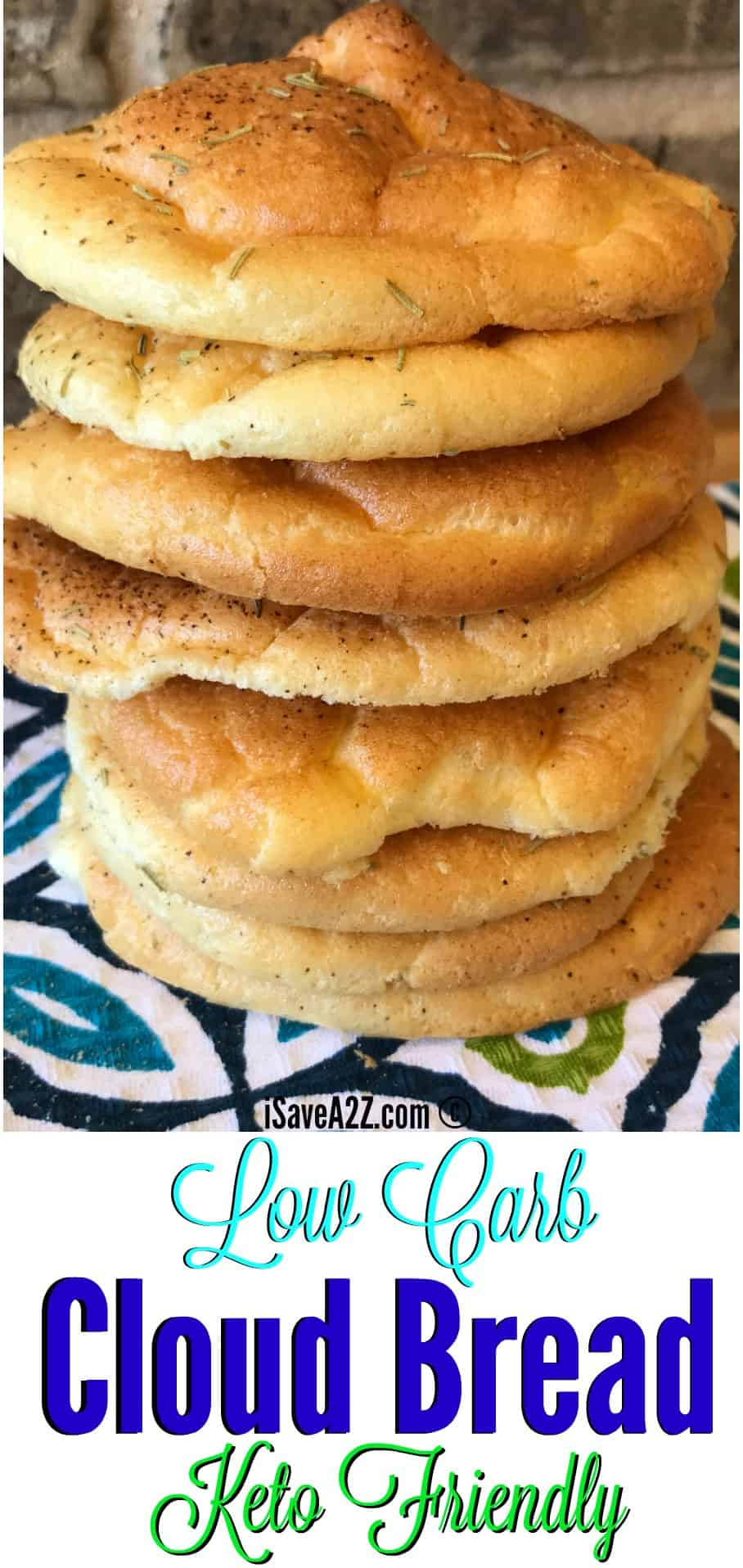 Low Carb Cloud Bread Recipe Made with Baking Soda
