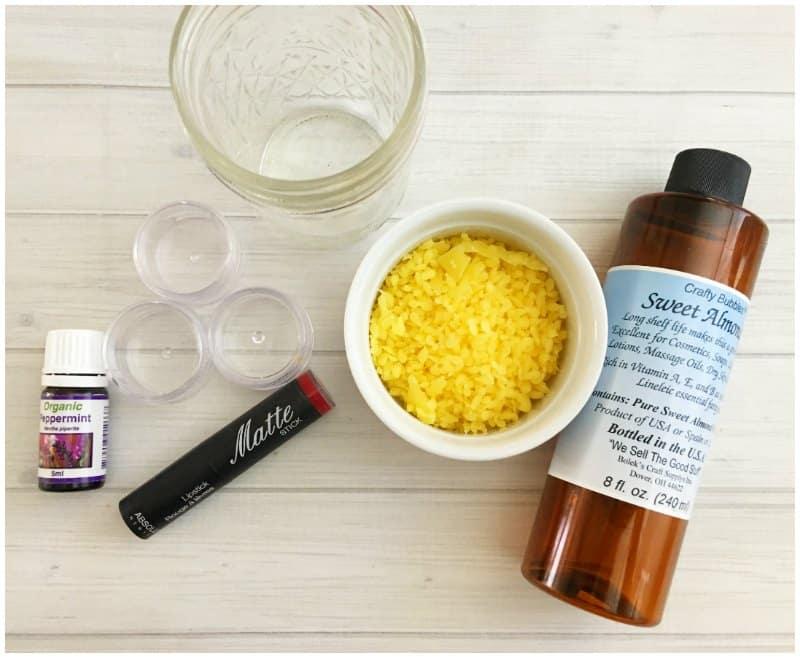 3 Ingredient Lip Balm Recipe