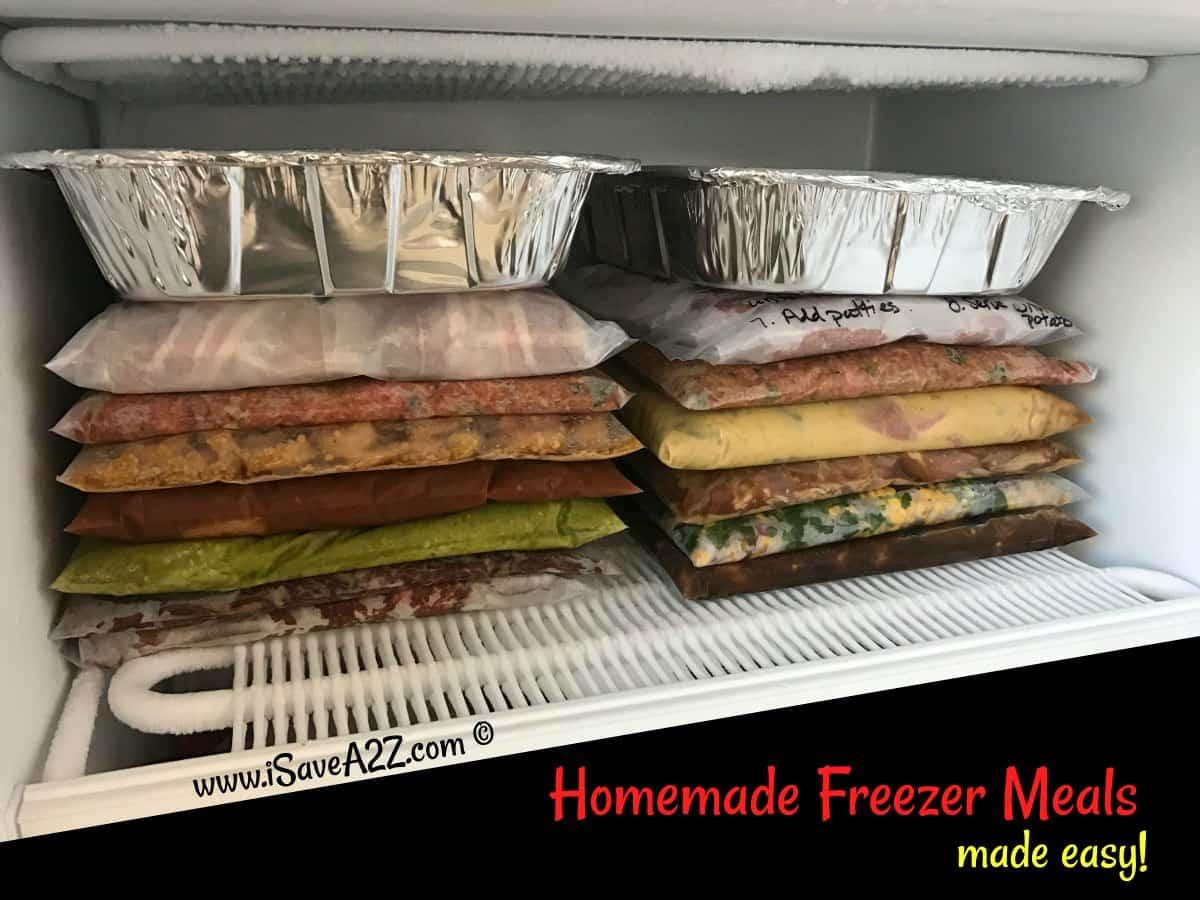 Homemade Freezer Meals Made Easy Isavea2z Com