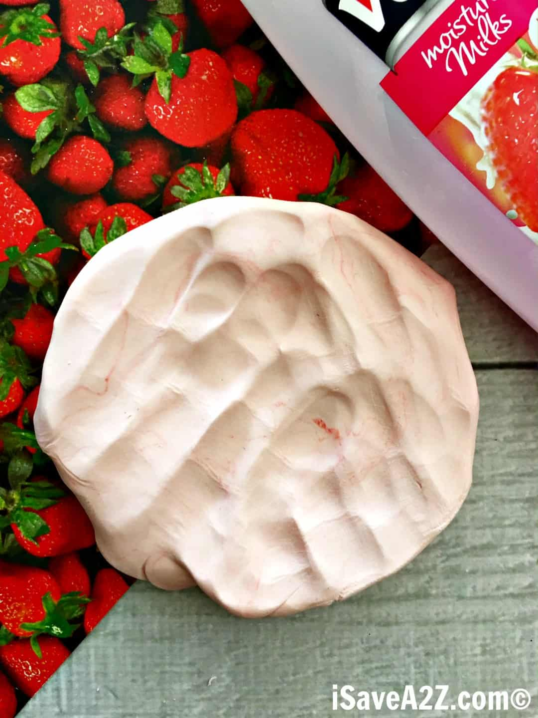 Strawberry Scented Cloud Dough
