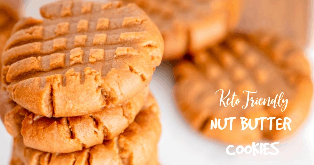 3 Ingredient Keto Peanut Butter Cookies