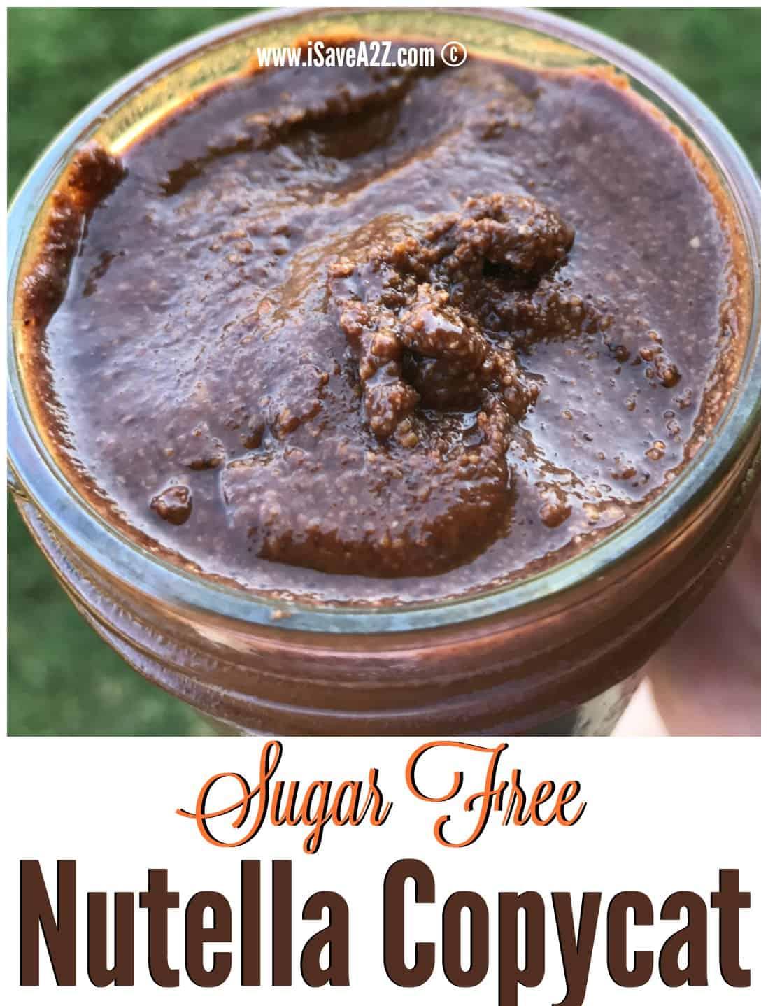 Sugar Free Dress: Sugar Free Hazelnut Spread Or Sugar Free Nutella Copycat