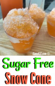Sugar Free Snow Cone Syrup Recipe (keto friendly)