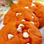 Easy Funfetti Creamsicle Cookies
