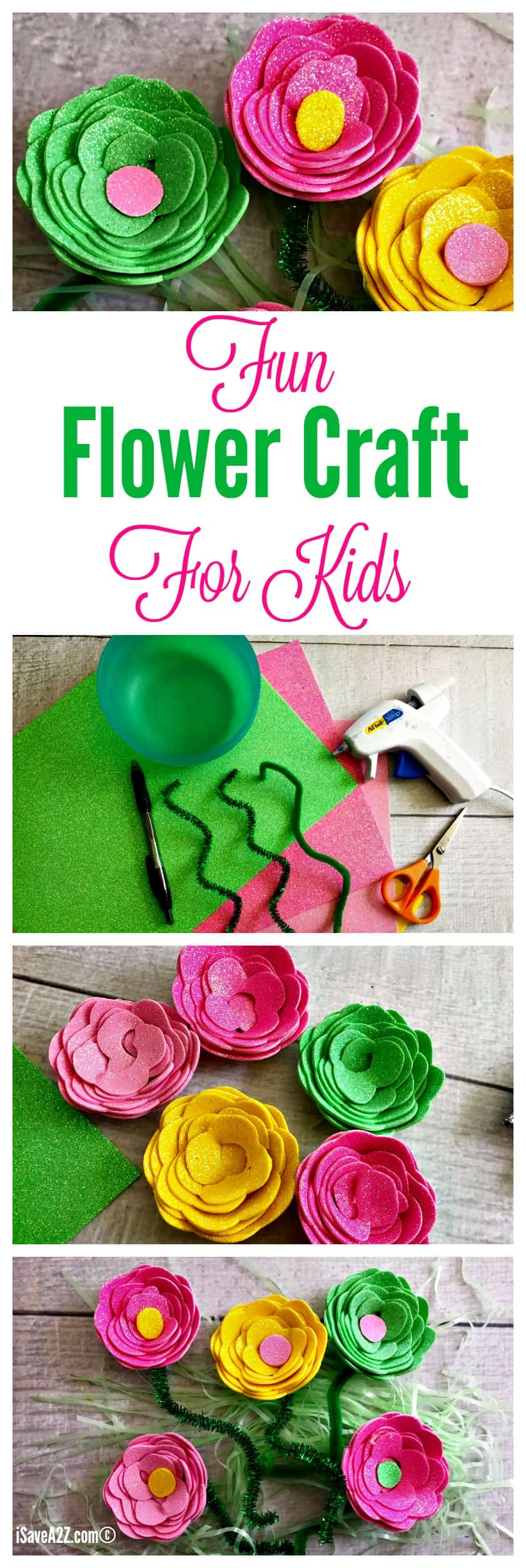 Fun Flower Craft Kids Will Love