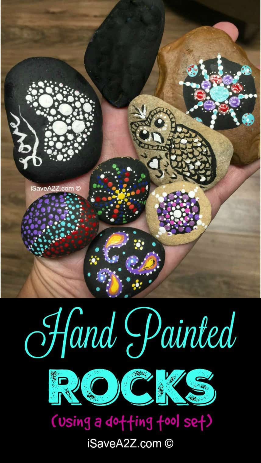 Hand Painted Rock Designs Teaching Opportunity For Kids Isavea2z Com