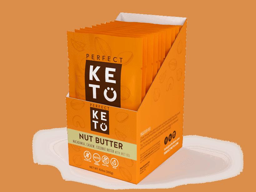 Nut Butter Singles keto snack idea