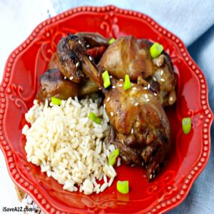 Simple Instant Pot Chicken Teriyaki Recipe