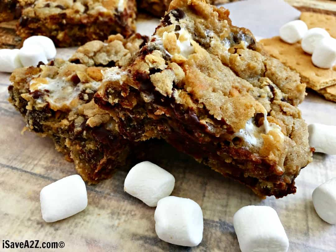 Simply Delicious S'more Cookie Bars