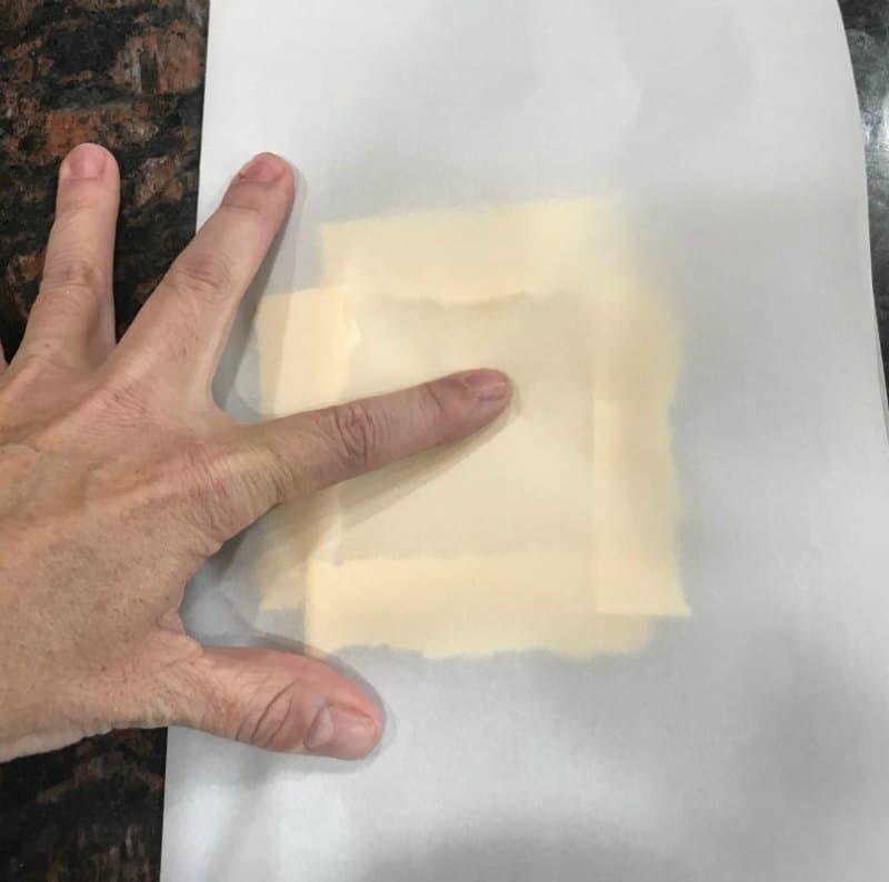 No Carb Cheese Wrap FOLIOS Copycat Recipe (Keto Friendly Cheese Tortilla)