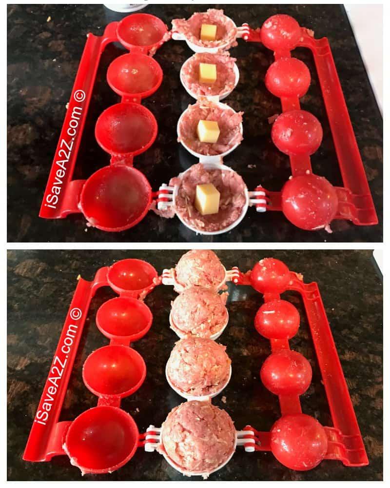 Keto Cheese Stuffed Meatballs Recipe